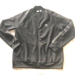 Women's black Adidas track jacket